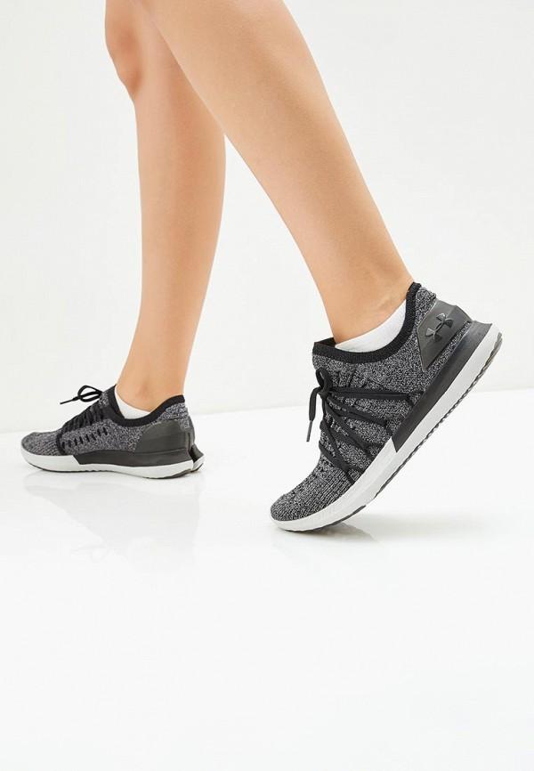 Фото 5 - женские кроссовки Under Armour серого цвета