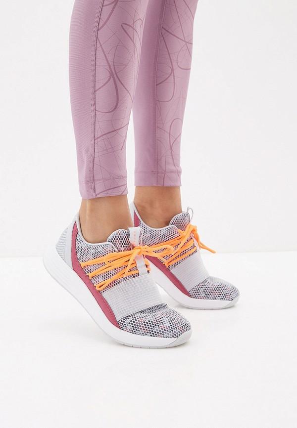 Фото 6 - женские кроссовки Under Armour серого цвета