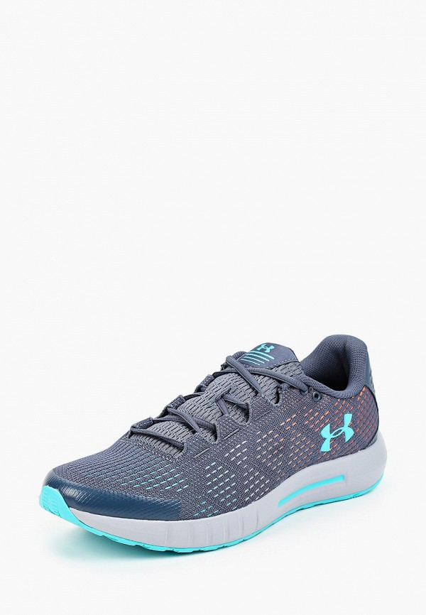 Фото 2 - женские кроссовки Under Armour синего цвета