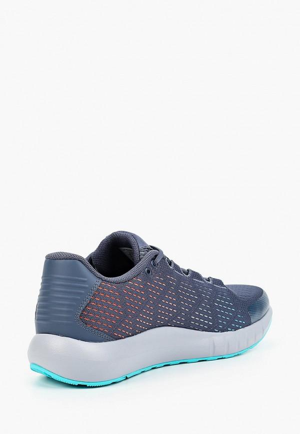 Фото 3 - женские кроссовки Under Armour синего цвета