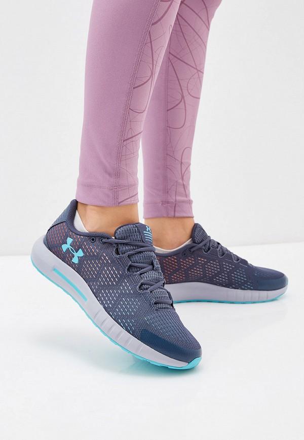 Фото 6 - женские кроссовки Under Armour синего цвета