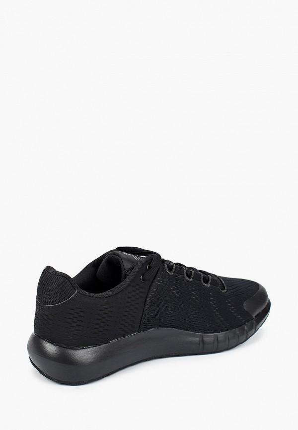 Фото 3 - женские кроссовки Under Armour черного цвета