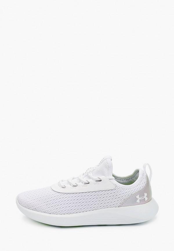 женские кроссовки under armour, белые