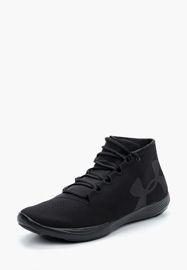 Фото 10 - женские кроссовки Under Armour черного цвета