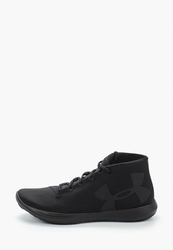 Фото 15 - женские кроссовки Under Armour черного цвета
