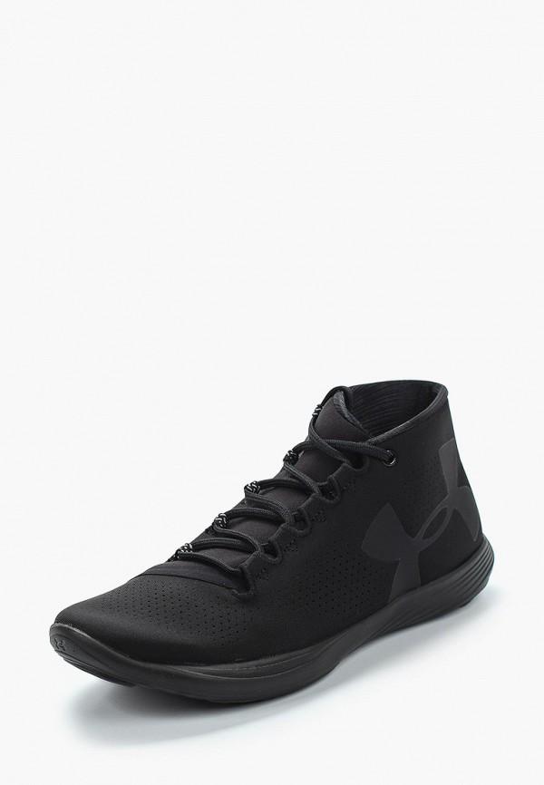 Фото 16 - женские кроссовки Under Armour черного цвета