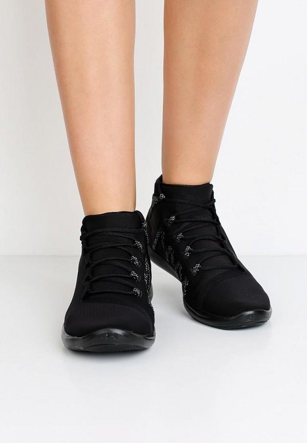 Фото 14 - женские кроссовки Under Armour черного цвета
