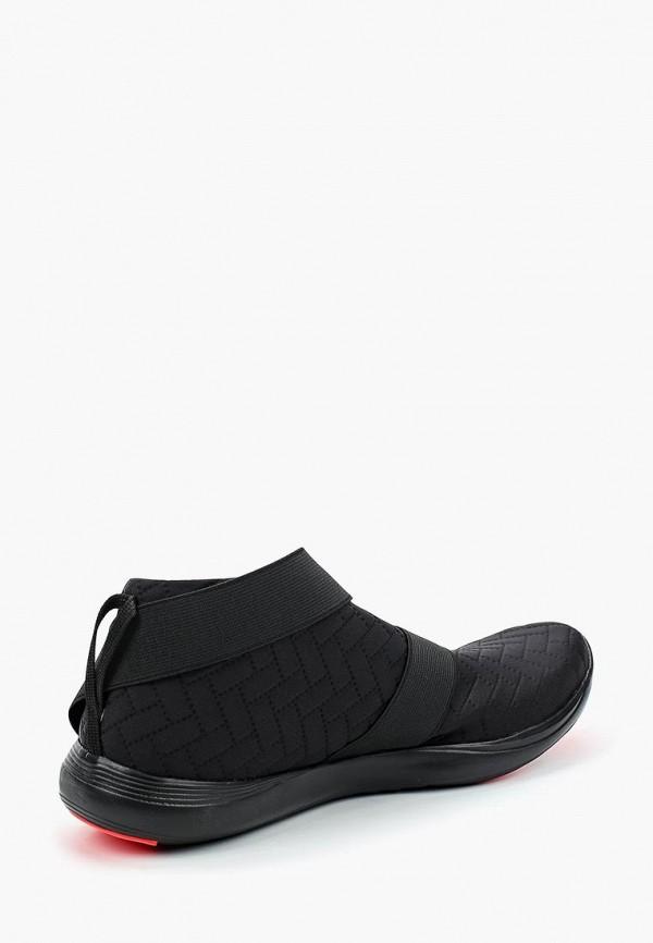 Фото 2 - женские кроссовки Under Armour черного цвета