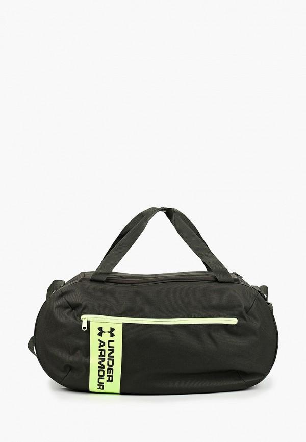 мужская сумка under armour, зеленая
