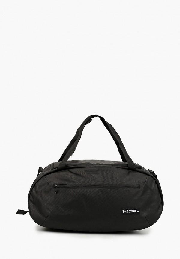 мужская сумка under armour, черная