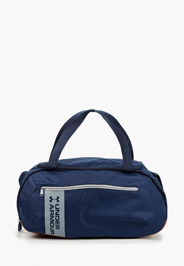 мужская сумка under armour, синяя