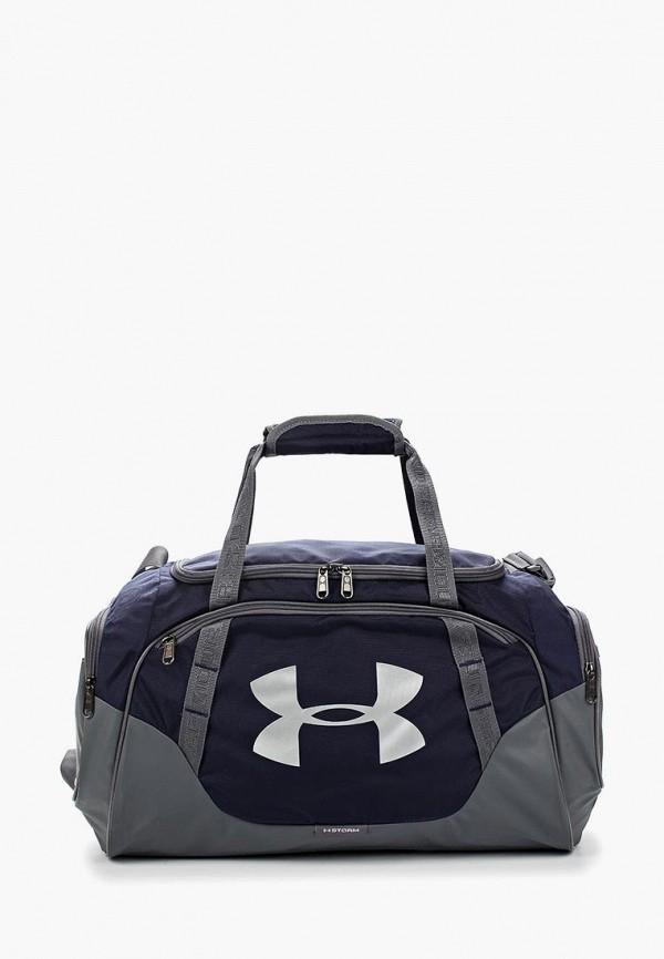 Купить Сумка спортивная Under Armour, UA Undeniable Duffle 3.0 SM, UN001BUABNU8, синий, Осень-зима 2018/2019