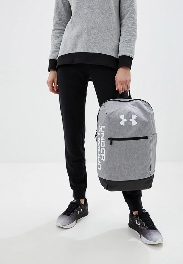 Фото 5 - мужской рюкзак Under Armour серого цвета