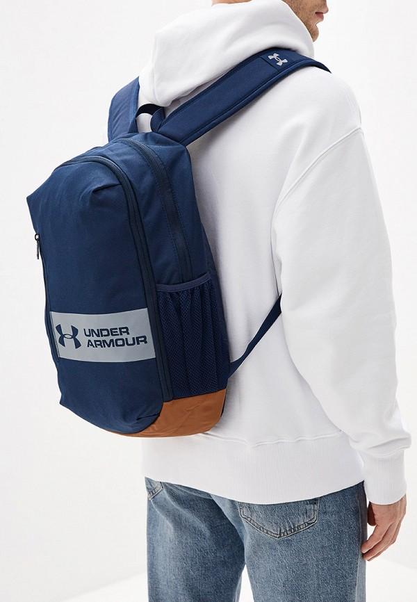 Фото 4 - мужской рюкзак Under Armour синего цвета