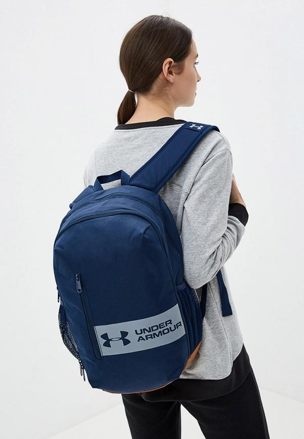 Фото 5 - мужской рюкзак Under Armour синего цвета