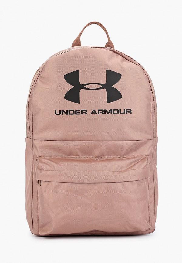 Фото - мужской рюкзак Under Armour розового цвета