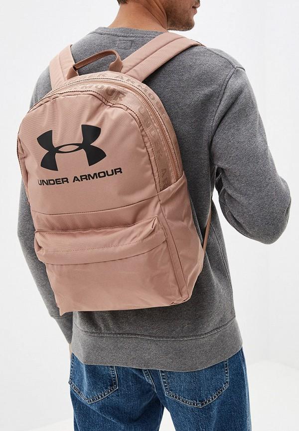 Фото 5 - мужской рюкзак Under Armour розового цвета