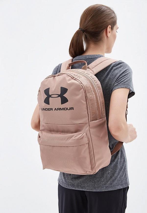 Фото 4 - мужской рюкзак Under Armour розового цвета