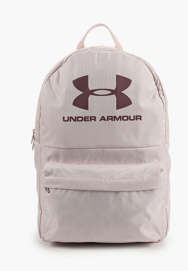 женский рюкзак under armour, розовый