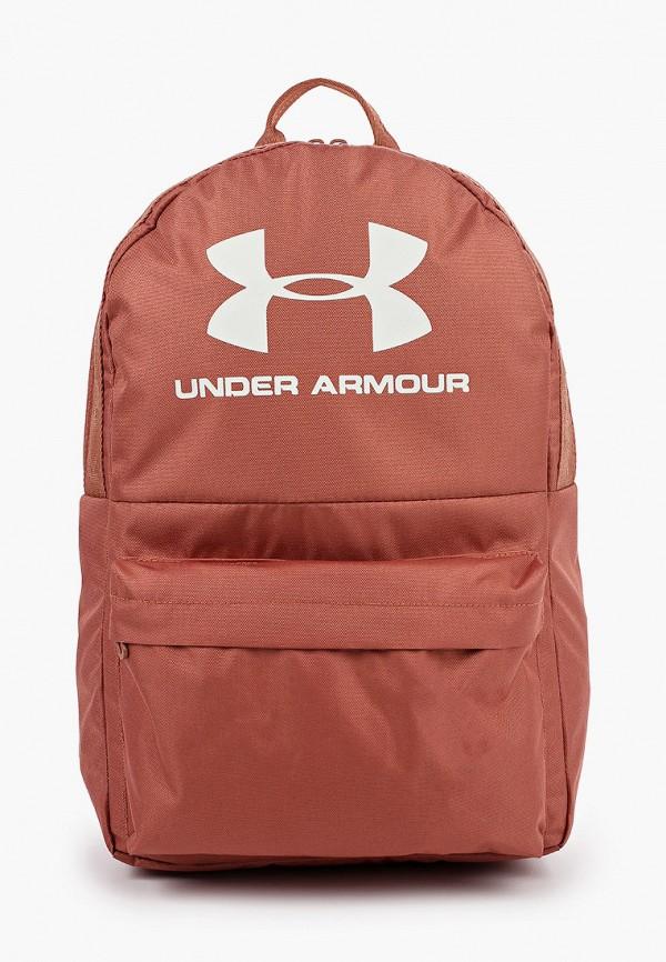 женский рюкзак under armour, коричневый