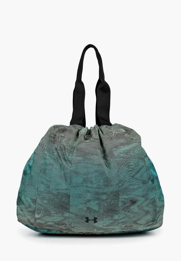 женская сумка under armour, зеленая