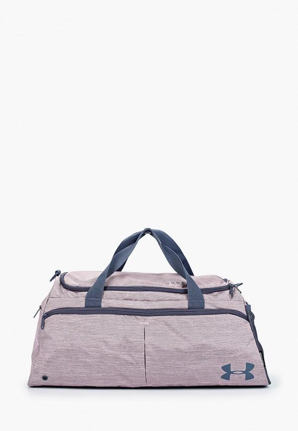 женская сумка under armour, розовая
