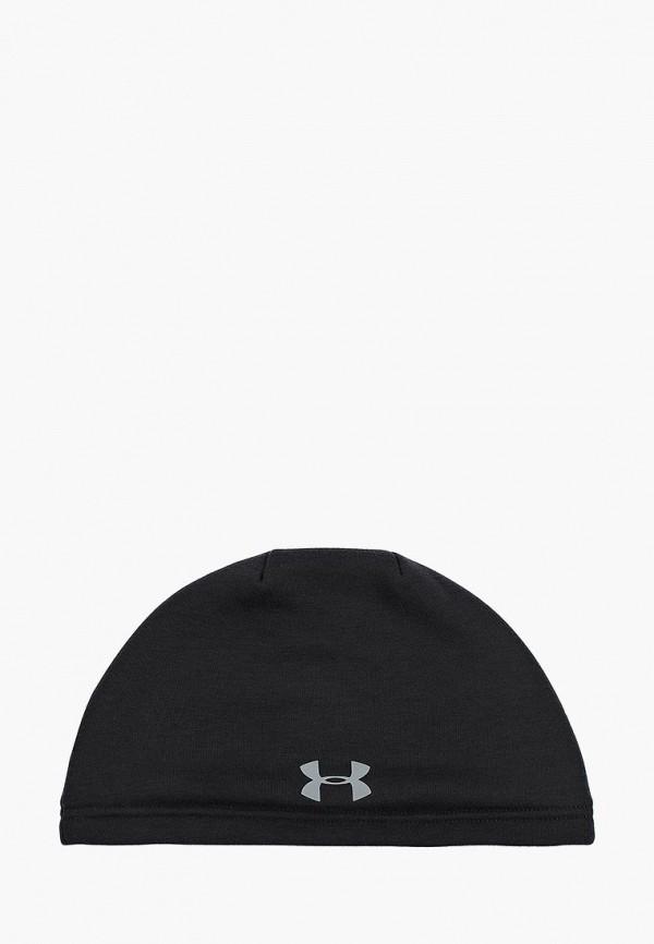 шапка under armour для мальчика, черная