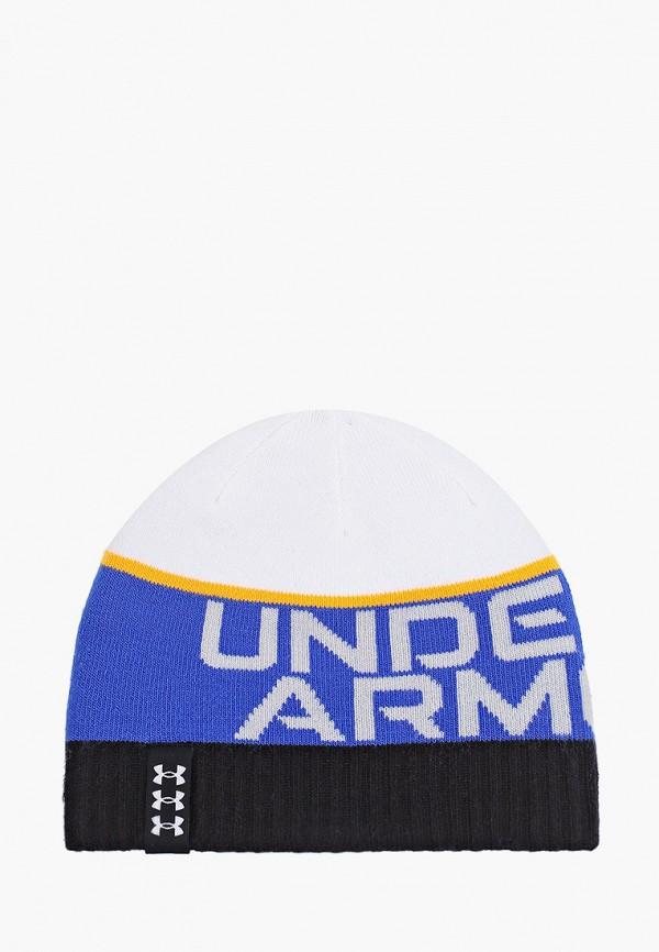 шапка under armour для мальчика, разноцветная