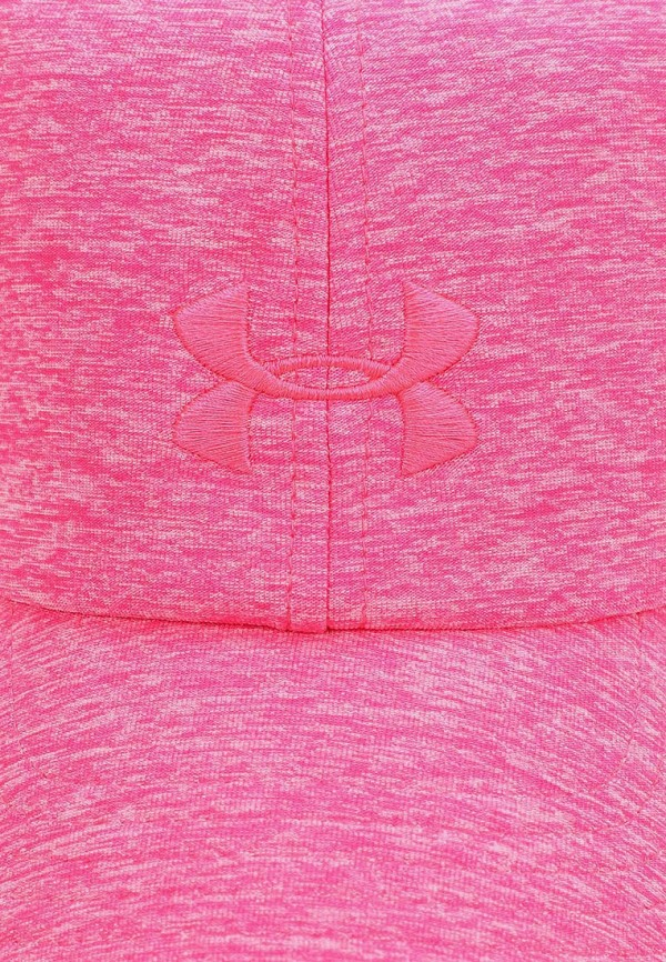 Фото 3 - Бейсболка Under Armour розового цвета