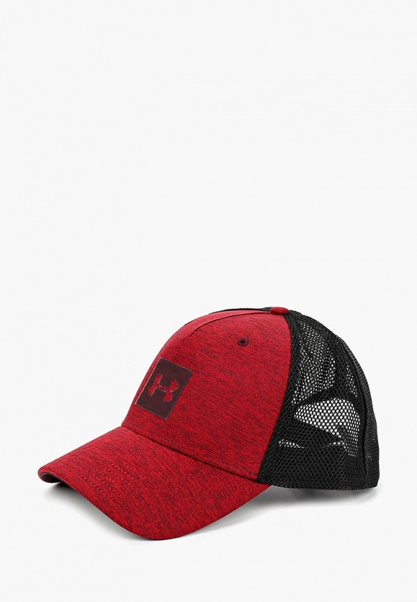 Купить Бейсболка Under Armour, Men's Closer Trucker Cap Upd, un001cmbvbd6, красный, Осень-зима 2018/2019