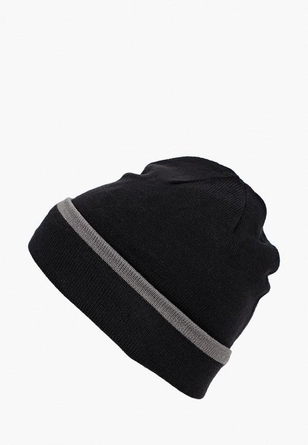 мужская шапка under armour, черная