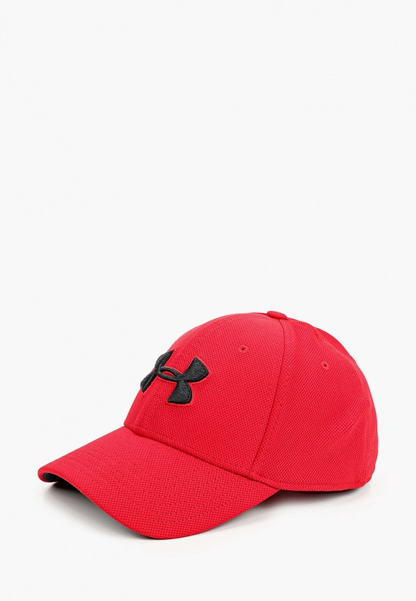 мужская бейсболка under armour, красная