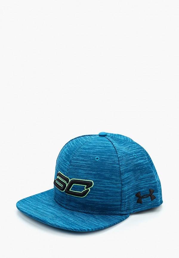 Купить Бейсболка Under Armour, Men's UA SC30 Core Cap, un001cmxrp59, синий, Осень-зима 2017/2018