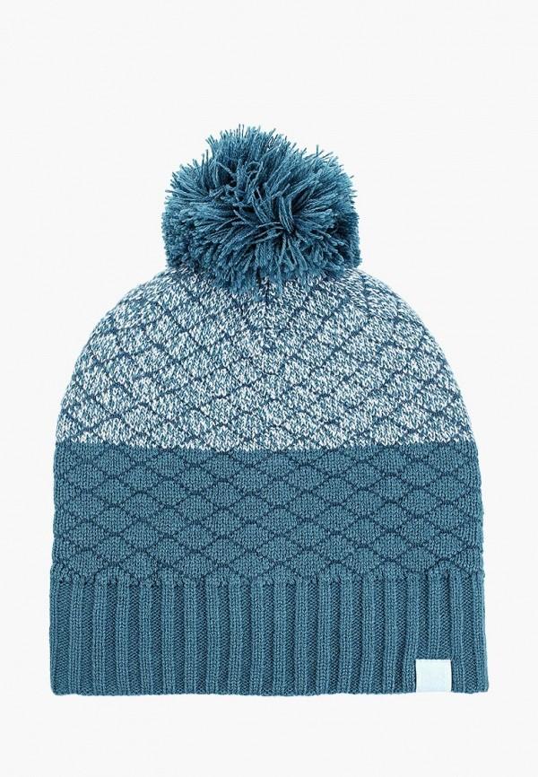 женская шапка under armour, голубая