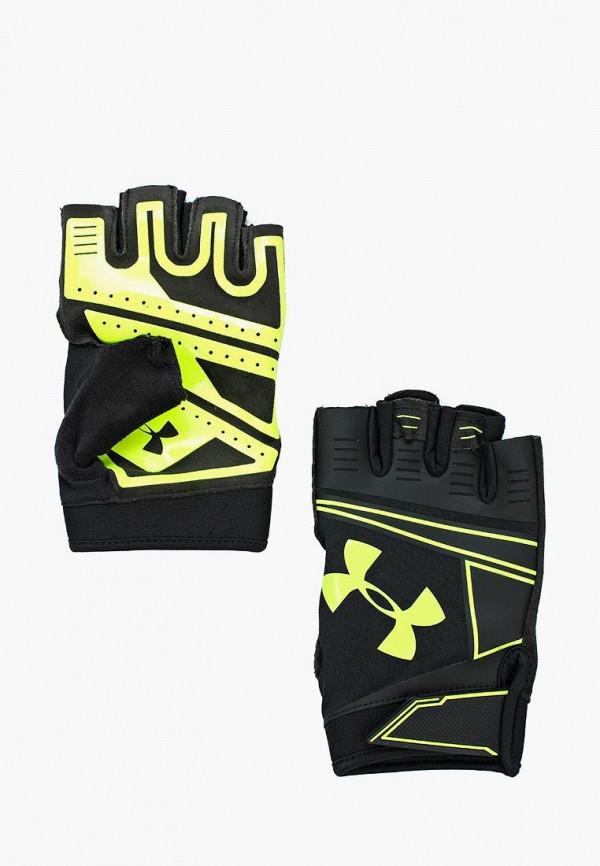 Купить Перчатки для фитнеса Under Armour, UA Coolswitch Flux, un001dmabnt2, черный, Осень-зима 2018/2019