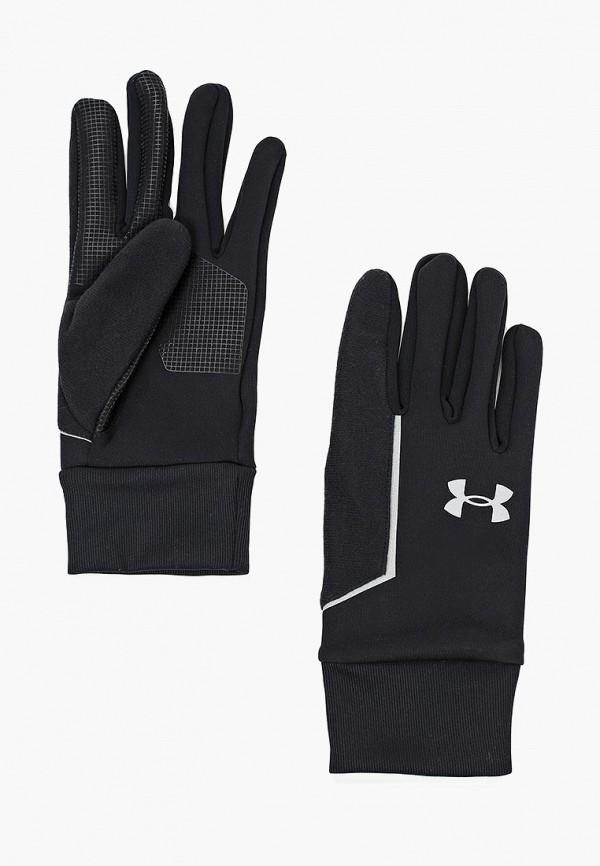 мужские перчатки under armour, черные