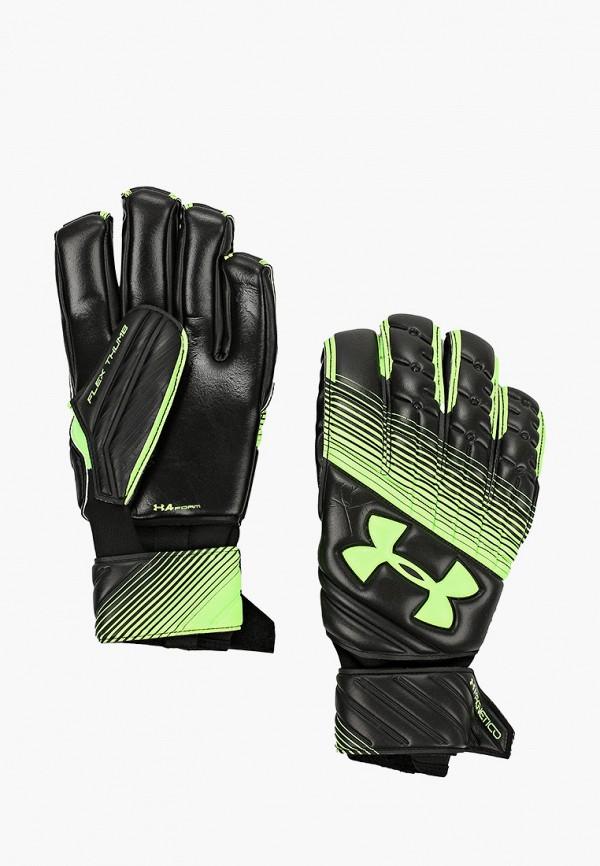 мужские перчатки under armour, зеленые