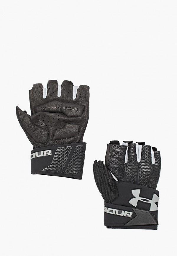Купить Перчатки для фитнеса Under Armour, UA Clutchfit Resistor, UN001DMXRP30, черный, Осень-зима 2018/2019