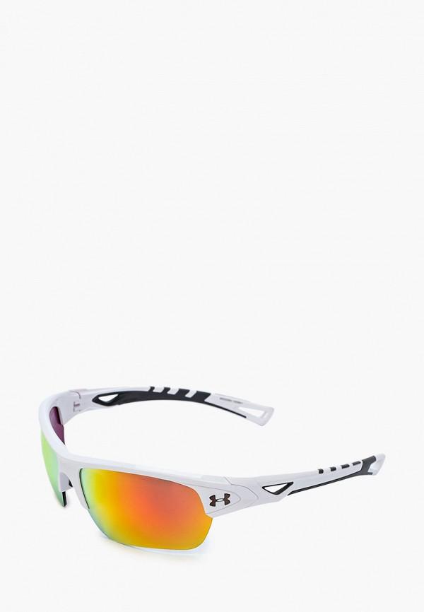 женские солнцезащитные очки under armour, белые