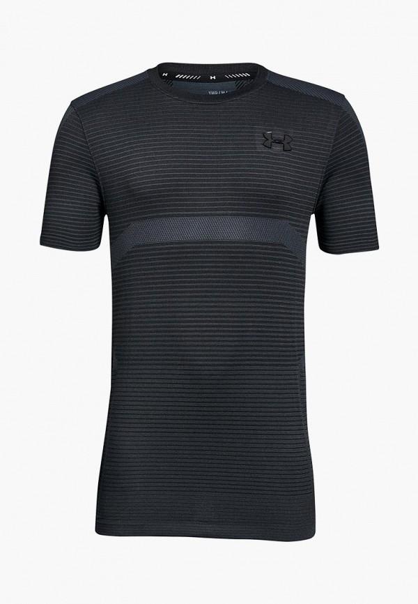 спортивные футболка under armour для мальчика, серая