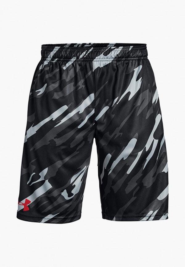 Купить Шорты спортивные Under Armour, UA Stunt Printed Short, un001ebcdwu0, черный, Осень-зима 2018/2019