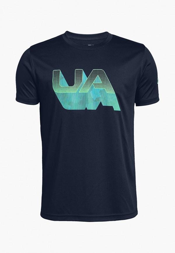 Купить Футболка спортивная Under Armour, Lenticular Shadow Logo SS Tee, un001ebcdwy0, черный, Осень-зима 2018/2019