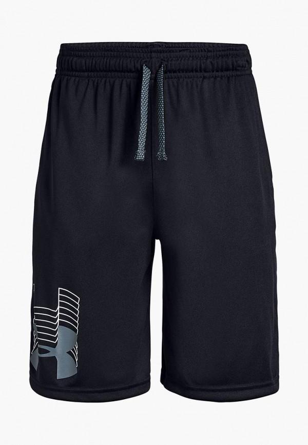 спортивные спортивные шорты under armour для мальчика, черные