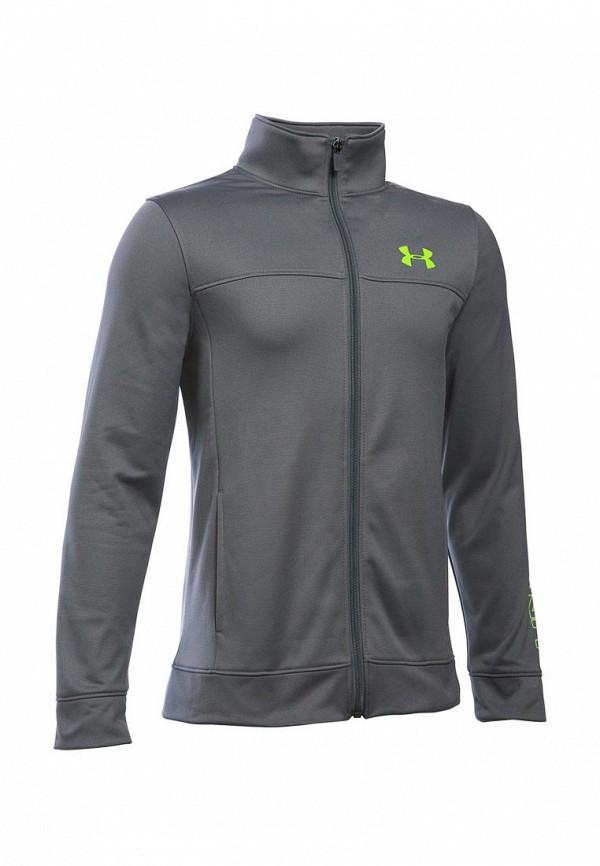 Купить Олимпийка Under Armour, Pennant Warm-Up Jacket, un001ebojk83, серый, Весна-лето 2017