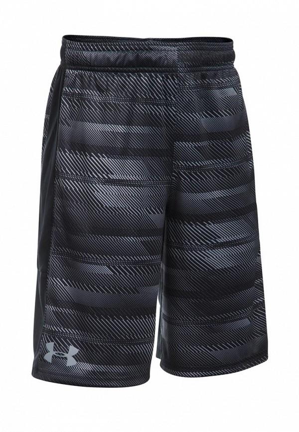 Шорты спортивные Under Armour, UA Stunt Printed Short-BLK, UN001EBXVU00, черный, Осень-зима 2017/2018  - купить со скидкой