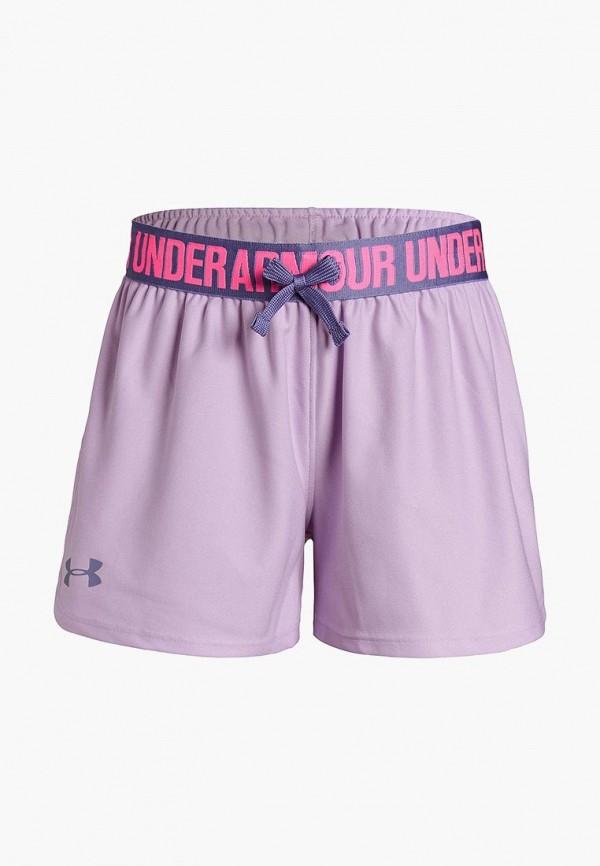 Купить Шорты спортивные Under Armour, Play Up Short, un001egdvcq1, фиолетовый, Весна-лето 2019
