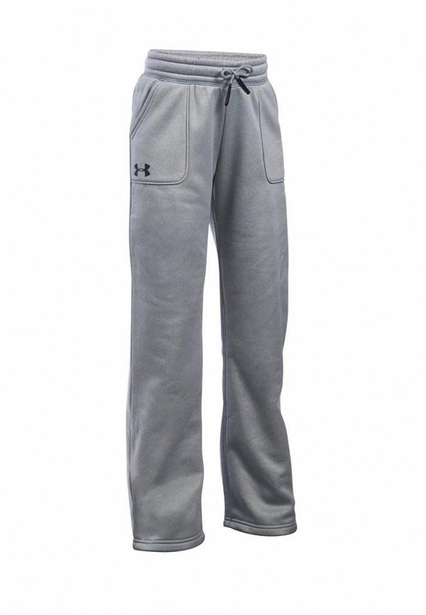спортивные спортивные брюки under armour для девочки, серые