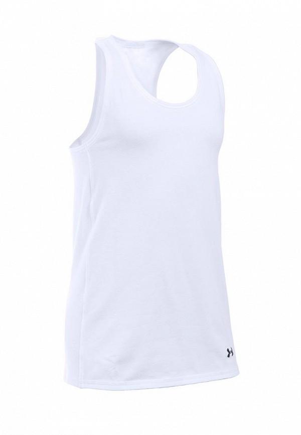 Купить Майка спортивная Under Armour, UA Favorite Knit, un001egtvm72, белый, Весна-лето 2017