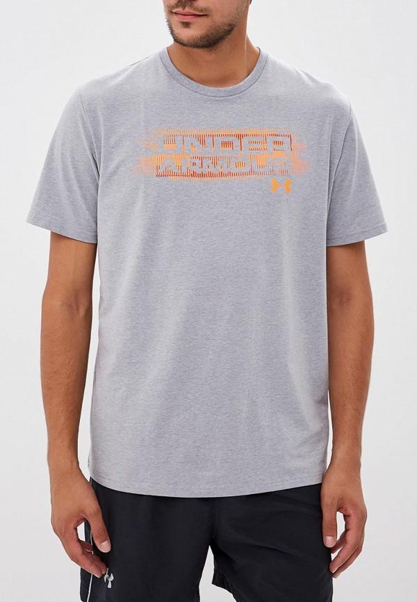 Футболка спортивная Under Armour Under Armour UN001EMABQA3 спортивная футболка under armour ua 1228539