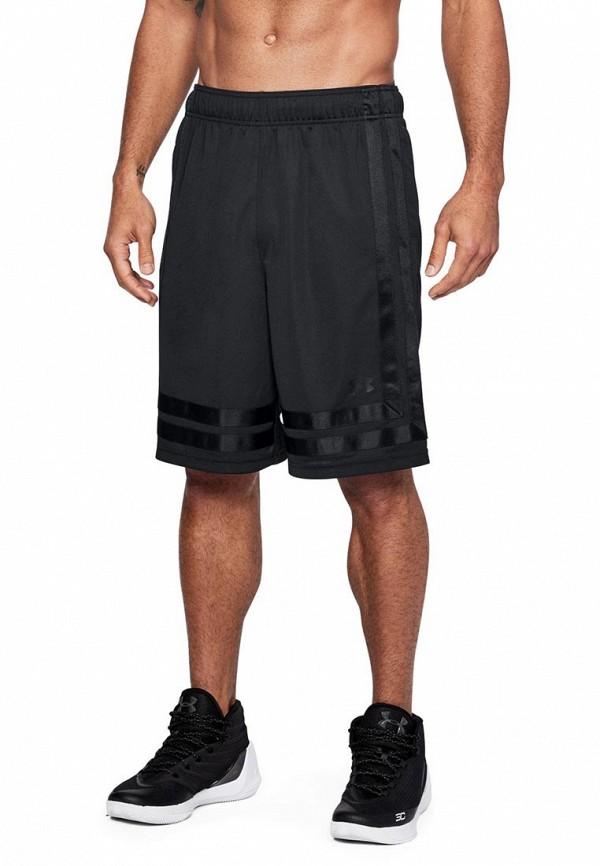 Купить Шорты спортивные Under Armour, UA Baseline 10in Short 18, un001emabqk5, черный, Осень-зима 2018/2019